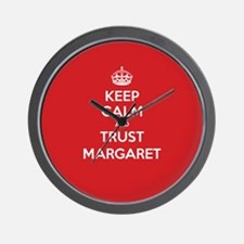 Trust Margaret Wall Clock