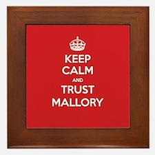 Trust Mallory Framed Tile
