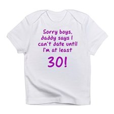 Cute Sorry boys Infant T-Shirt