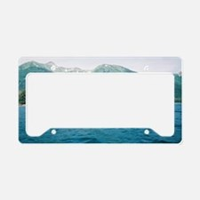 Tenakee Inlet License Plate Holder