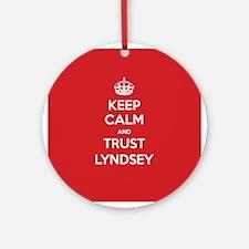 Trust Lyndsey Ornament (Round)