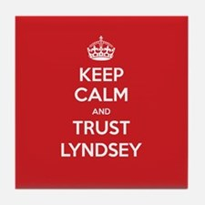 Trust Lyndsey Tile Coaster