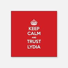 Trust Lydia Sticker