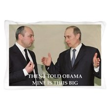 anti obama joke Pillow Case