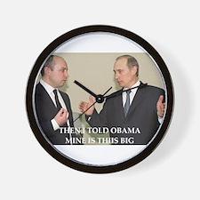 anti obama joke Wall Clock