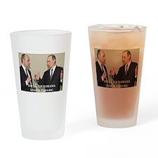anti obama joke Drinking Glass