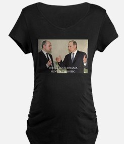 anti obama joke Maternity T-Shirt