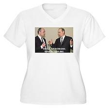 anti obama joke Plus Size T-Shirt