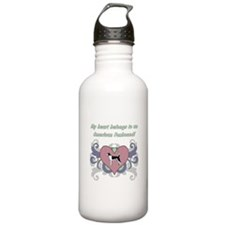 My heart belongs...Ame Water Bottle