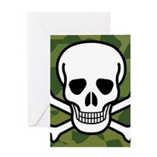 Skull and Crossbones Greeting Cards