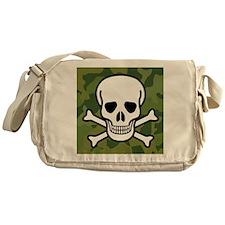Skull and Crossbones Messenger Bag