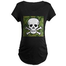 Skull and Crossbones Maternity T-Shirt