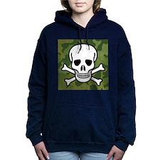 Skull and Crossbones Hooded Sweatshirt