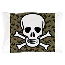 Skull and Crossbones Pillow Case