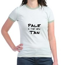Pale is the new Tan Women's Pink T-Shirt