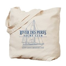 River Des Peres Yacht Club - Tote Bag