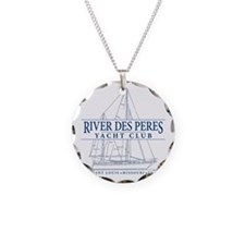 River Des Peres Yacht Club - Necklace Circle Charm
