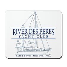 River Des Peres Yacht Club - Mousepad