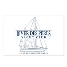 River Des Peres Yacht Clu Postcards (Package of 8)
