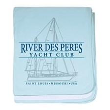 River Des Peres Yacht Club - baby blanket