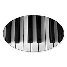 Piano Keys: Decal