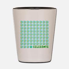St Patrick's Day Celebration Shot Glass