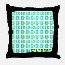 St Patrick's Day Celebration Throw Pillow