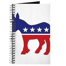 Democrat Original Donkey Logo Journal