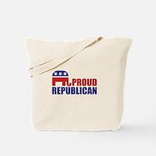 Proud Republican Elephant Logo Tote Bag