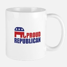 Proud Republican Elephant Logo Mugs