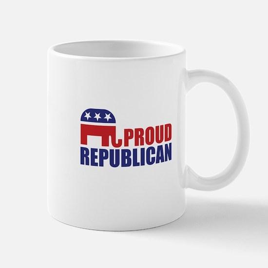 Proud Republican Elephant Logo Mugs