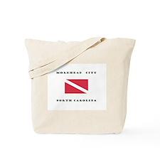 Morehead City North Carolina Dive Tote Bag