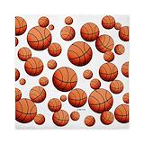 Girls basketball Queen Duvet Covers