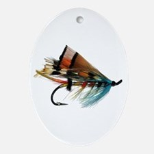 """""""Fly 2"""" Oval Ornament"""
