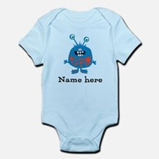 Blue Monster Infant Bodysuit