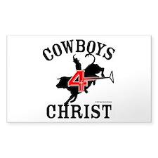 C4c Bull Rider Sticker (rectangle)