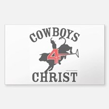 C4c Bull Rider Sticker (rectangle)