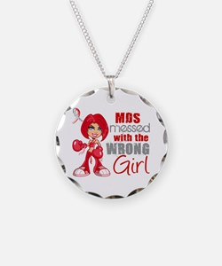 MDS Messed With Wrong Girl Necklace