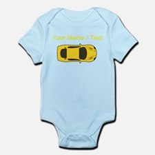 Custom Yellow Sports Car Body Suit