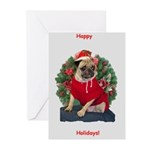 Santa Buster Greeting Cards (Pk of 10)