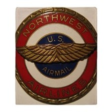 northwest airlines Throw Blanket