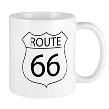 Route 66 Sign Mugs
