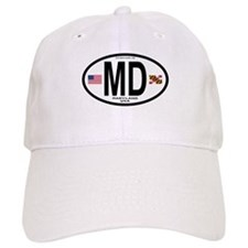 Maryland Euro Oval Baseball Cap