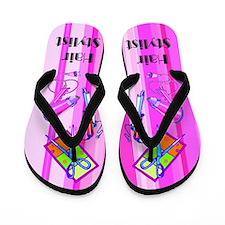 Glitzy Stylist Flip Flops