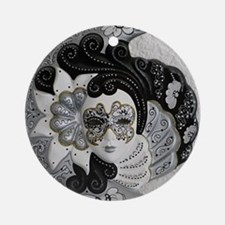 Venetian Mask Ornament (Round)