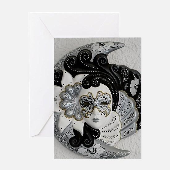 Venetian Mask Greeting Cards