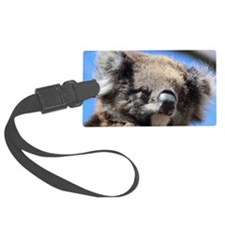 Adorable Cute Baby Koala Face Luggage Tag