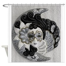 Venetian Mask Shower Curtain