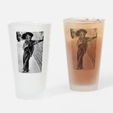 Victorian Chimney Sweep Drinking Glass