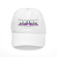 Purple Grapes Baseball Baseball Cap